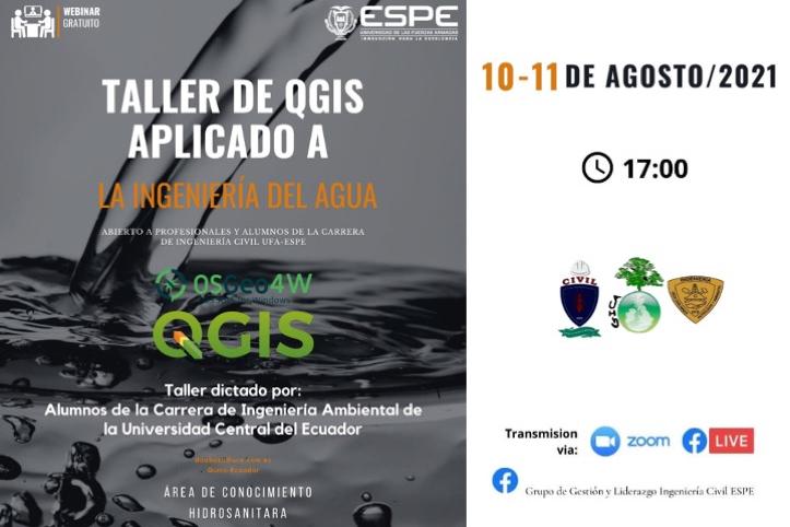 QGIS aplicado a la Ingeniería del agua